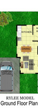 RYLEE MODEL GROUND FLOOR PLAN