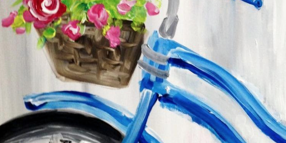 SOLD OUT !! Paint by the Pints - Cycling into Spring