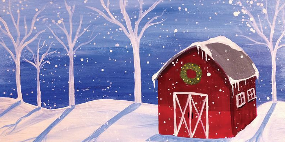 SOLD OUT! - Paint by the Pints - Christmas Vibes