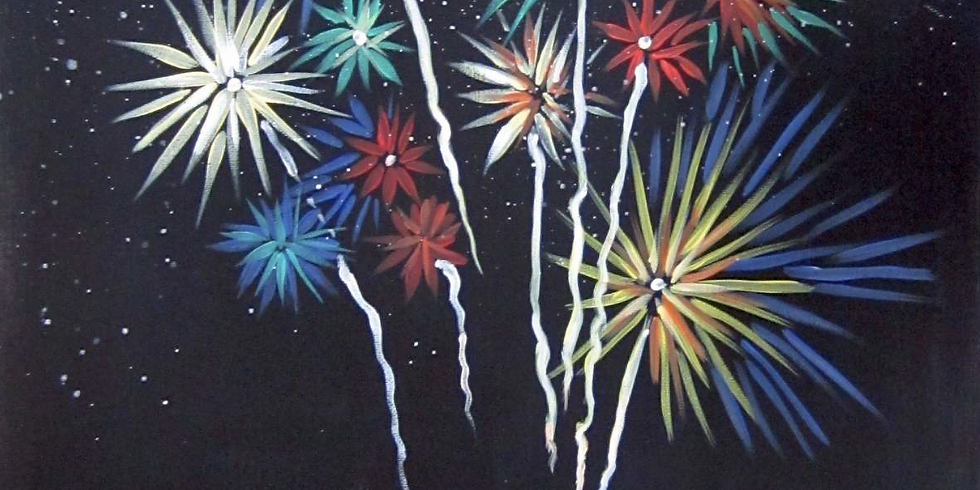 Paint by the Pints -  Wexford Fringe Festival Fireworks