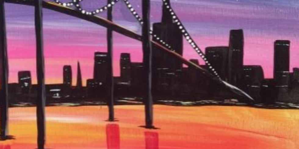 Sold Out - Paint by the Pints - Sunsets by the Bridge