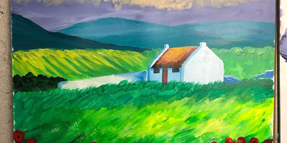 July 31st - Virtual Paint by the Pints - Irish Summer