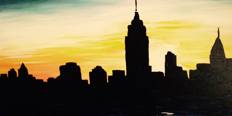 Paint by the Pints - City Skyline