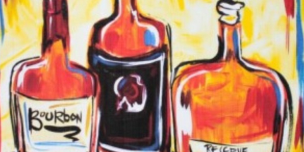 Paint by the Pints - Beers & Bourbon - 18th Sept