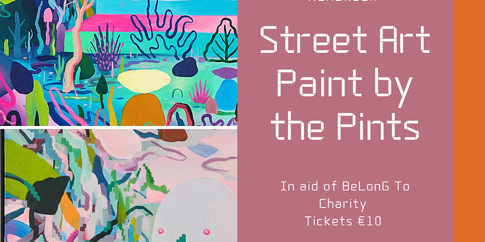 Pride Week Paint Night with The Hendrick Hotel in aid of BeLongTo