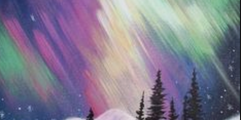 SOLD OUT !! Paint by the Pints - Northern Lights