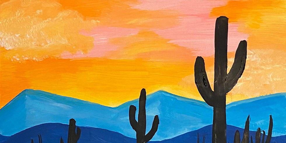 Paint by the Pints x Virtual Fridays - March 19th 2021