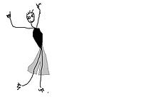 La Jupette Barbue, bal à la voix