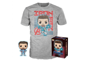 Tony Stark Pop & Tee - Avengers Endgame Target Exclusive
