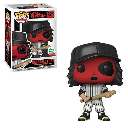 Baseball Fury (Red) #824 - The Warriors Funko Shop Holiday Exclusive