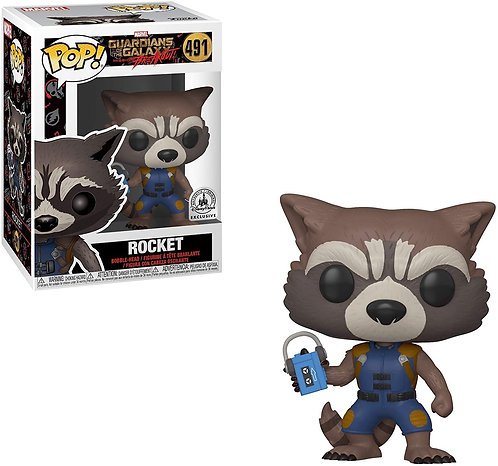 Rocket #491 - Guardians of the Galaxy Disney Parks Exclusive