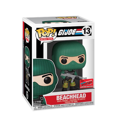 Beachhead #13 - GiJoe 2020 NYCC Exclusive Official Sticker