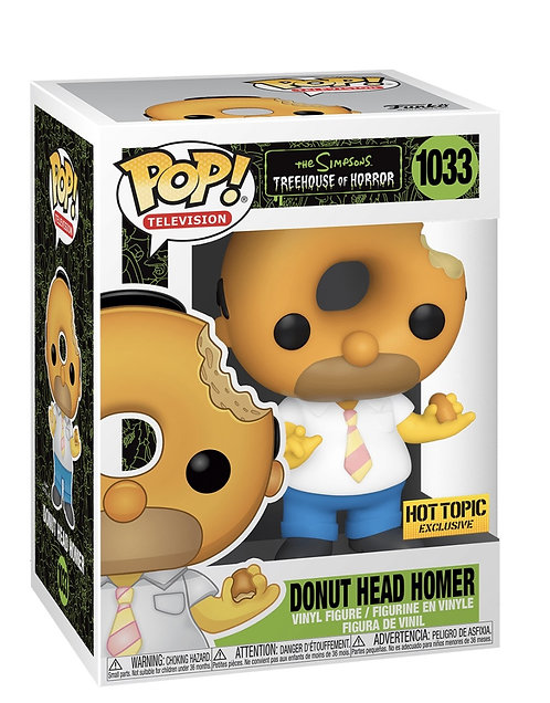 Donut Head Homer #1033 - Simpsons Treehouse of Horror Hot Topic Exclusive
