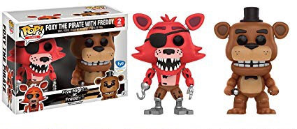 Foxy the Pirate with Freddy FNAF - FYE Exclusive 2-Pack