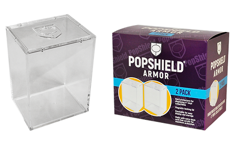 "4"" PopShield Armor w/ Magnetic Lid (2-Pk)"