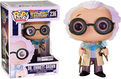 Dr. Emmett Brown #236 - Back to the Future Loot Crate Exclusive