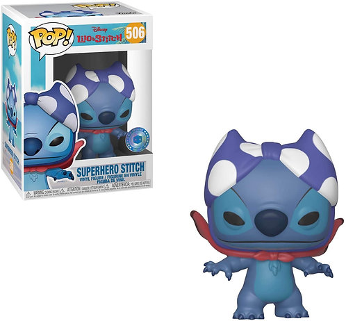 Superhero Stitch #506 - Disney's Lilo and Stitch Pop in a Box Exclusive PIAB