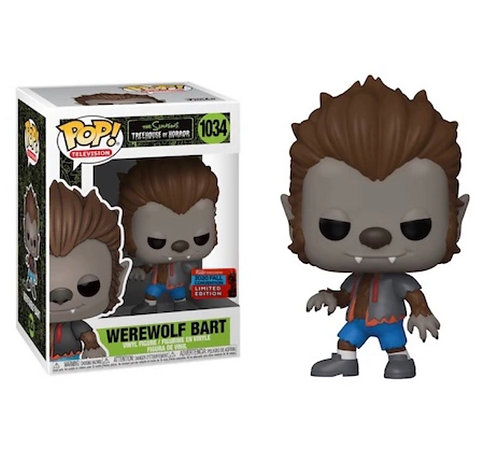 Werewolf Bart #1034 - Simpsons Treehouse of Horror 2020 NYCC Exclusive