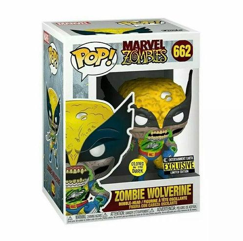 Zombie Wolverine #662 - Entertainment Earth (EE) GITD Exclusive