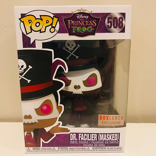 Dr. Facilier (Masked) #508 Disney's Prince and the Frog Box Lunch Exclusive