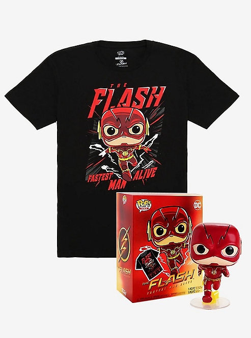 The Flash Pop T-Shirt Bundle Box Lunch Exclusive (XL)