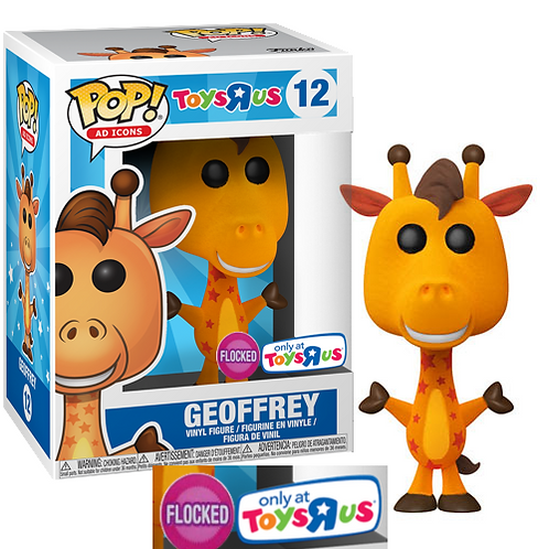 Geoffrey #12 - Toys R Us Exclusive (Flocked)