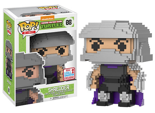 8-bit Shredder #08 - TMNT 2017 Fall Convention Exclusive
