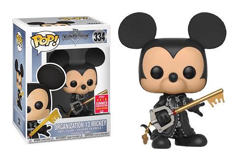 Organization 13 Mickey - Kingdom Hearts 2018 SDCC Exclusive