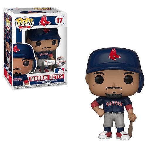 Mookie Betts #17 - MLB Boston Red Sox Fanatics Exclusive