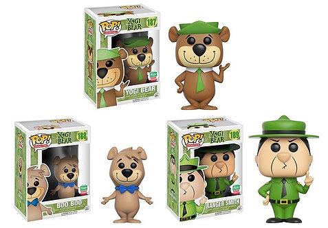 Yogi Bear 3 pc Set - Boo Boo, Yogi Bear, Ranger Smith