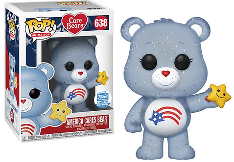 America Cares Bear #638 - Care Bears Funko Shop Exclusive