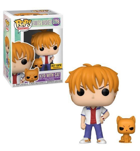 Kyo with Cat #888 - Fruits Basket Hot Topic Exclusive