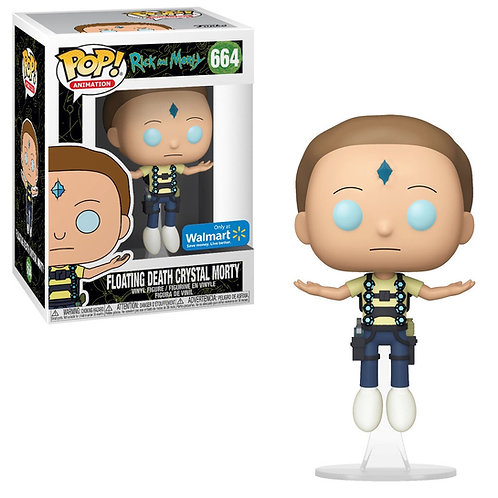 Floating Death Crystal Morty #664 - Rick & Morty Walmart Exclusive