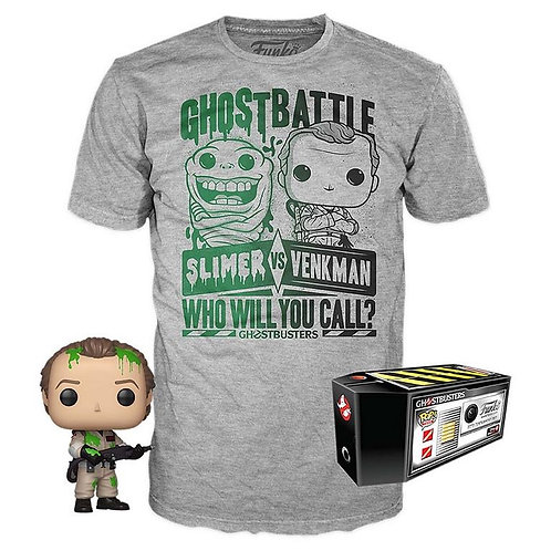 Ghostbusters Tee Shirt & Pop Bundle - GameStop Exclusive T Shirt