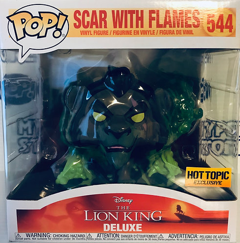 Scar with flames #544 - Lion King Hot Topic Exclusive