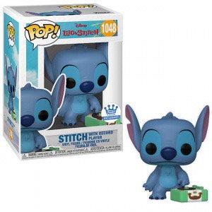 Stitch with Record Player #1048 - Disney's Lilo & Stitch Funko Shop Exclusive