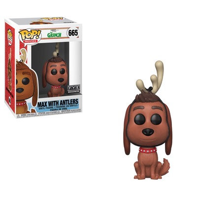 Max with Antlers #665 - The Grinch FYE Exclusive