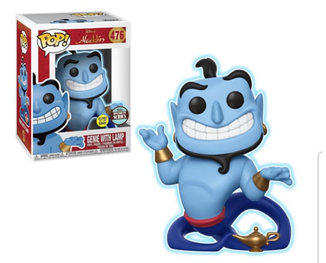Genie with Lamp #476 - Disney's Aladdin Glow Specialty Series
