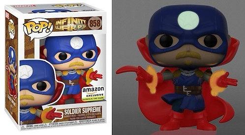 Soldier Supreme #858 - Infinity Warps Amazon Exclusive