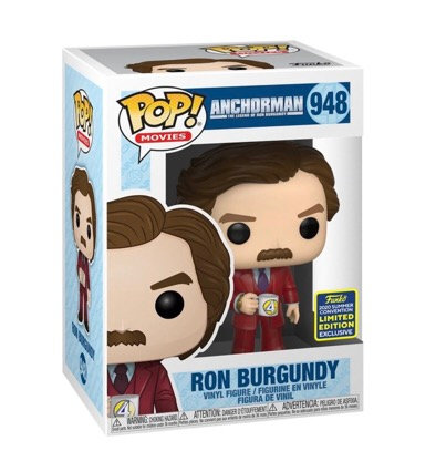 Ron Burgundy #948 - Anchorman 2020 SDCC Exclusive