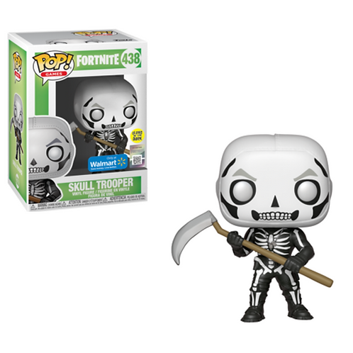 Skull Trooper #438 - Fortnite Walmart GITD Exclusive