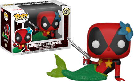 Mermaid Deadpool #321 - Target Exclusive