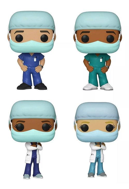 Frontline Heroes SE Set of 4 Doctors & Nurses