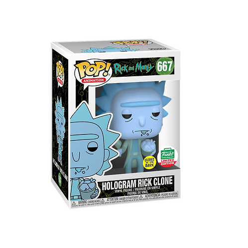 Hologram Rick Clone #667 - Rick & Morty Funko Shop Holiday Exclusive