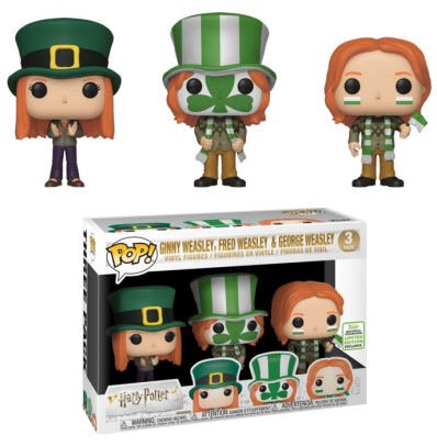 Ginny, Fred, George Weasley 3pk - Harry Potter Barnes & Noble Exclusive
