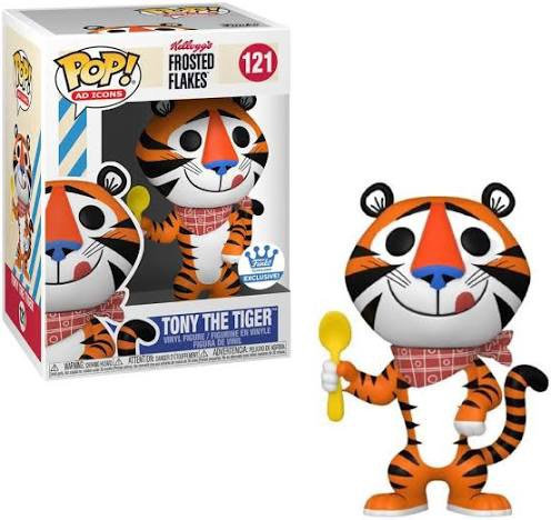 Tony The Tiger #121 - Kellogg's Frosted Flakes Funko Shop Exclusive (Damaged)