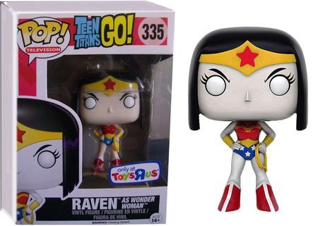 Raven as Wonder Woman #335 - Teen Titans Go! Toys R Us Exclusive