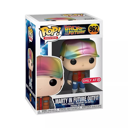 Marty in Future Outfit #962 - Back to the Future Target Exclusive