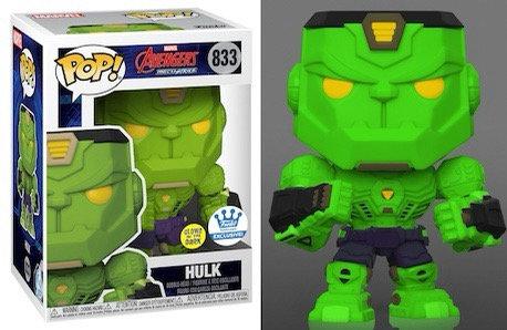 Hulk #833 - Avengers Mech Strike Funko Shop Exclusive (Glows)