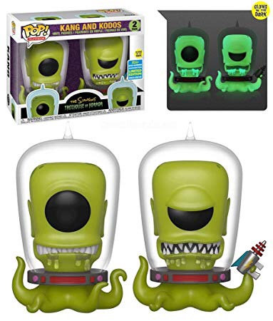 Kang and Kodos 2pk - Simpson's Treehouse of Horror ECCC Exclusive